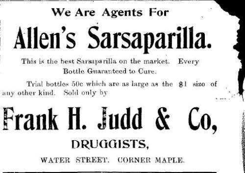 Allen's Sarsaparilla